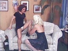 2 Mature Women - lick, finger, and pound