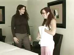Super hot Lesbo  rubdown