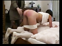 Russian Student rock-hard disciplined by teacher