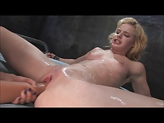 Super-cute Platinum-blonde Romped With  & Fisted (Zdonk)