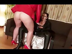 Super hot Cougars In Leather Playtime and