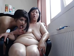 Fledgling Sapphic Homemade cam - Youthful and Old