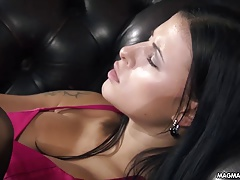 MAGMA FILM Uber-sexy honey has  breasts