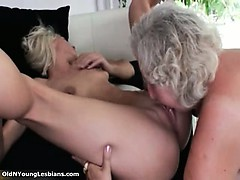 Girl-on-girl  damsel gets her vulva gobbled part3