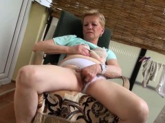 Teenage shares dildo with granny