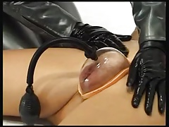 Lady Dommes With Gimp Nymph