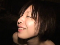 Subtitled very first time Asian girl-on-girl super hot spring bathing