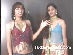 Indian Gonzo Films School Lezzie Gals  Sucking Jugs