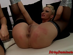 Bigass eurobabe  and fingered