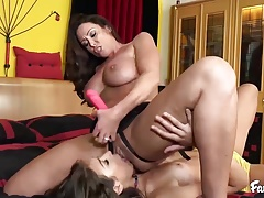 Carmen Caliente Has Been Praying Her Stepmom for a Tit-screwing
