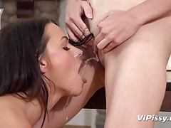 Vipissy - Sapphic pee in throat and much more