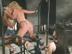 P.J. Sparxxx roped up, whipped, and screwed with strap-on
