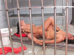 London and Jessica are Jailhouse Cocksluts