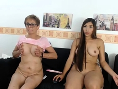 Chesty Granny in cam