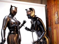 Latex and ultra fetish  romp