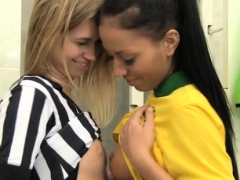 doctor hardcore Brazilian player boning the referee